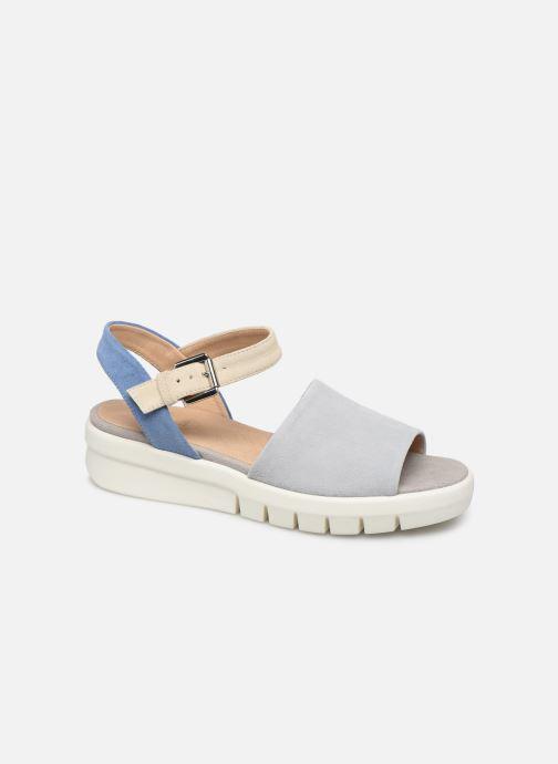 Sandales et nu-pieds Geox D WIMBLEY A D92DPA Bleu vue détail/paire
