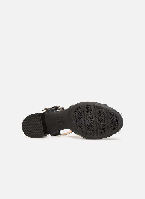 Sandales et nu-pieds Geox D MARYKARMENN MS A D92CWA Noir vue haut