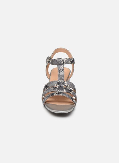 Sandales et nu-pieds Geox D SEYLA SAN B D92DUB Gris vue portées chaussures