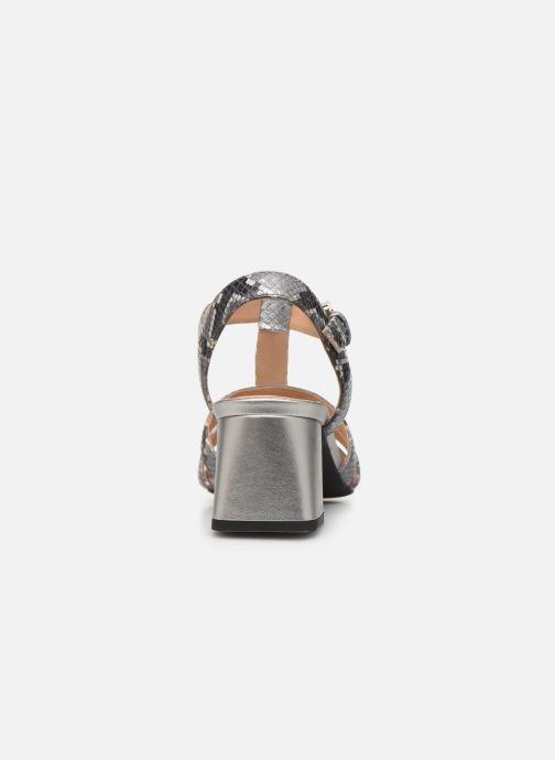 Sandales et nu-pieds Geox D SEYLA SAN B D92DUB Gris vue droite
