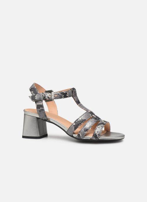 Sandales et nu-pieds Geox D SEYLA SAN B D92DUB Gris vue derrière