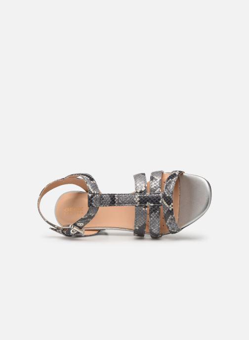 Sandales et nu-pieds Geox D SEYLA SAN B D92DUB Gris vue gauche