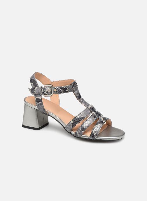 Sandales et nu-pieds Geox D SEYLA SAN B D92DUB Gris vue détail/paire