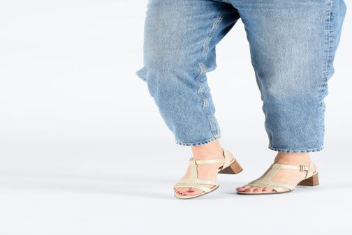 Sandales et nu-pieds Geox D MARYKRAMMEN MID SAN F D92CWF Beige vue bas / vue portée sac