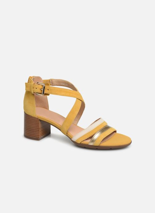 Sandales et nu-pieds Geox D MARYKRAMMEN MID SAN E D92CWE Jaune vue détail/paire