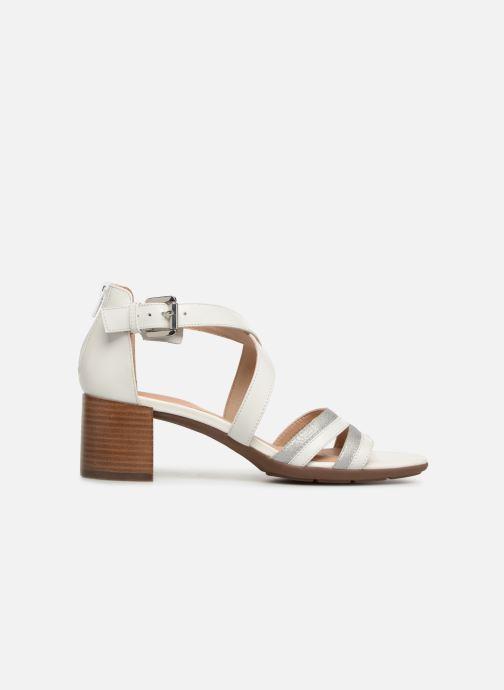 Sandales et nu-pieds Geox D MARYKRAMMEN MID SAN E D92CWE Blanc vue derrière
