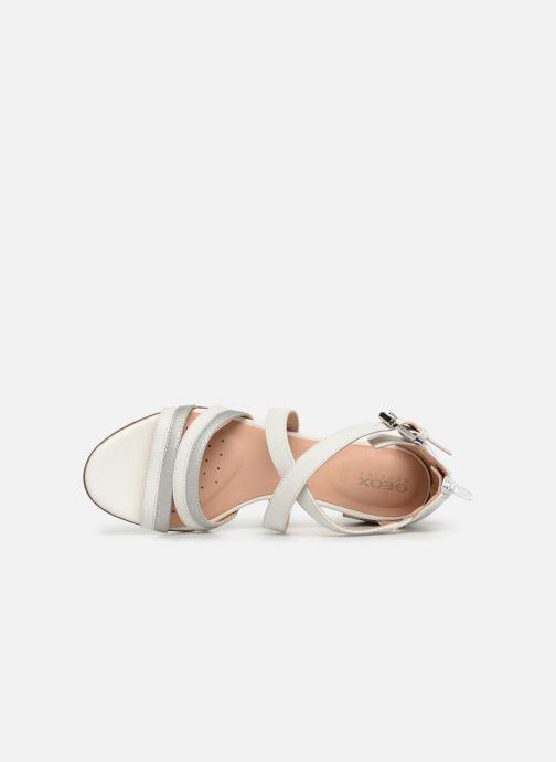 Sandales et nu-pieds Geox D MARYKRAMMEN MID SAN E D92CWE Blanc vue gauche