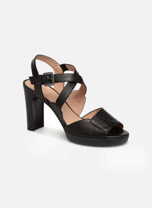 Geox D ANNYA HIGH B D92CLB (schwarz) - Sandalen bei Más cómodo