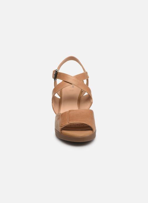 Sandaler Geox D ANNYA HIGH B D92CLB Brun se skoene på