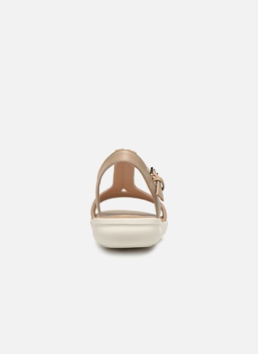 Sandals Geox D JEARL B D92DRB Beige view from the right