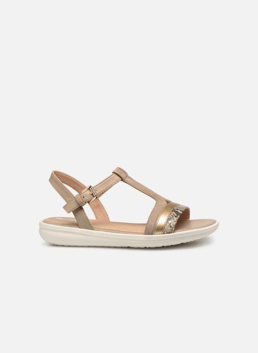 Sandales et nu-pieds Geox D JEARL B D92DRB Beige vue derrière