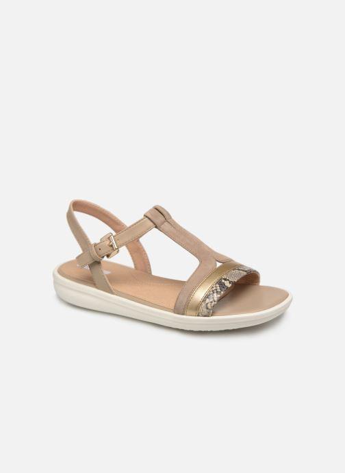 Sandales et nu-pieds Geox D JEARL B D92DRB Beige vue détail/paire