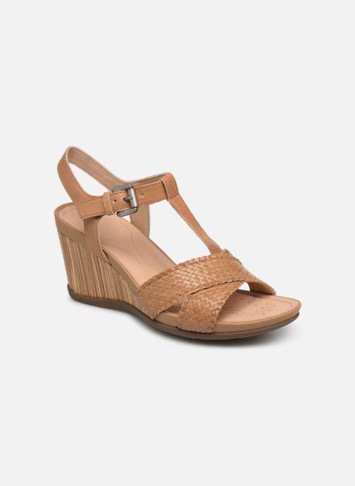 Sandales et nu-pieds Geox D DOROTHEA E D928TE Marron vue détail/paire