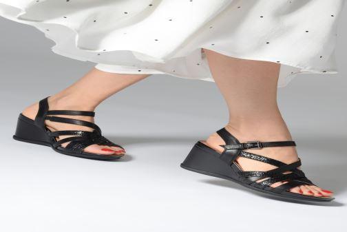 Sandales et nu-pieds Geox D DOROTHA C D928TC Noir vue bas / vue portée sac