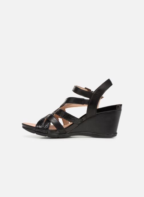 Sandales et nu-pieds Geox D DOROTHA C D928TC Noir vue face