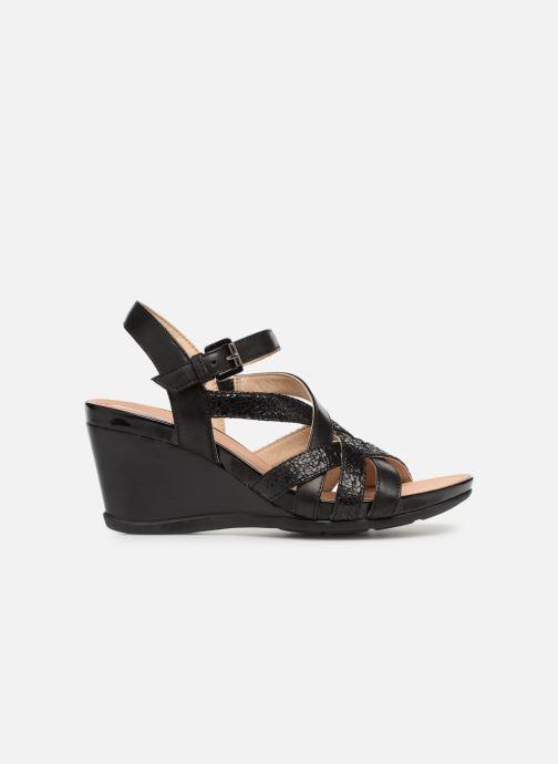 Sandales et nu-pieds Geox D DOROTHA C D928TC Noir vue derrière