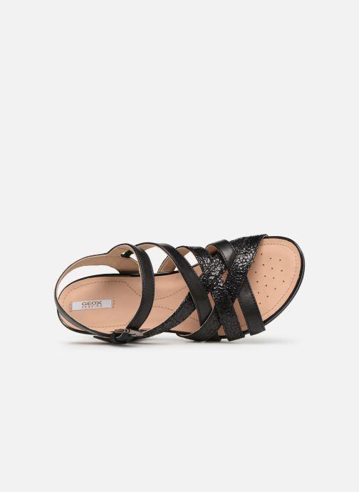 Sandales et nu-pieds Geox D DOROTHA C D928TC Noir vue gauche