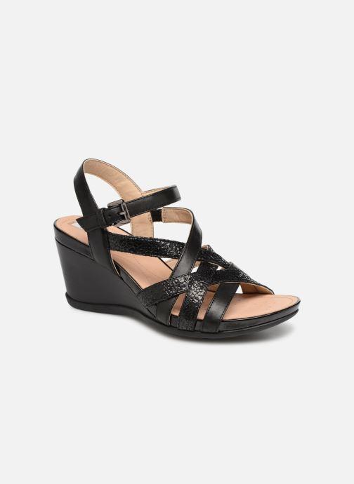 Sandales et nu-pieds Geox D DOROTHA C D928TC Noir vue détail/paire