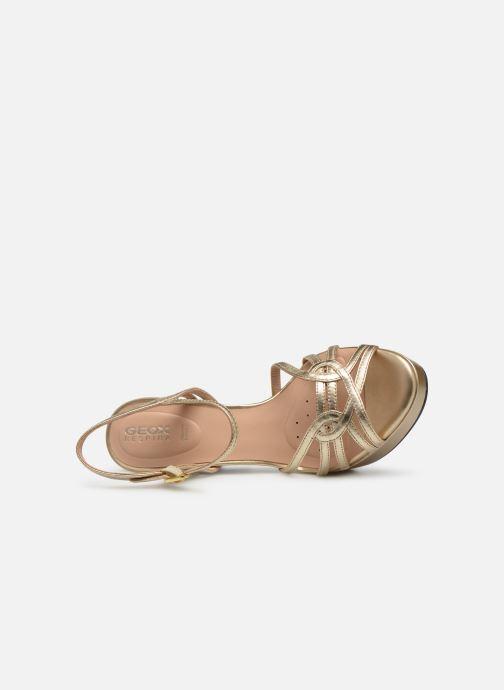 Geox D FELYXA A D92CHA (Oro e bronzo) Sandali e scarpe
