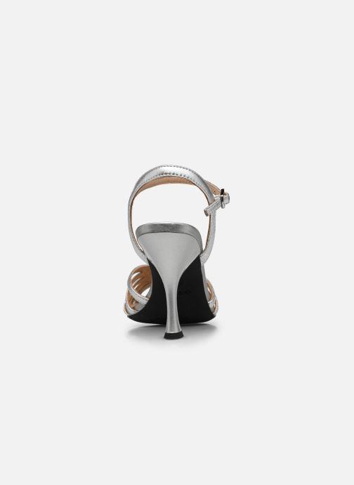 Sandales et nu-pieds Geox D ELISANGEL D D92CVD Argent vue droite