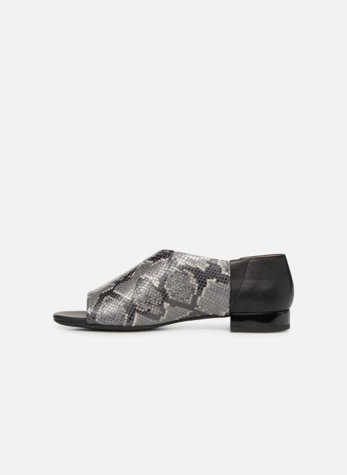 Sandales et nu-pieds Geox D WISTREY SANDAL A D724HA Noir vue face