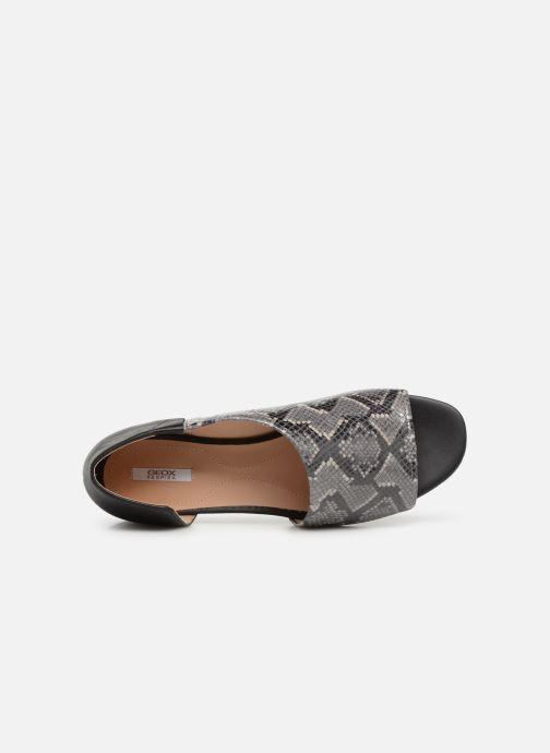 Sandales et nu-pieds Geox D WISTREY SANDAL A D724HA Noir vue gauche
