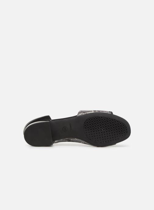 Sandales et nu-pieds Geox D WISTREY SANDAL A D724HA Noir vue haut