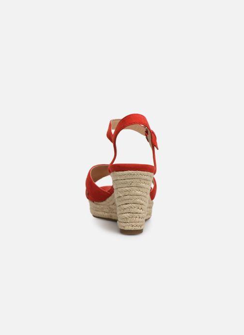 Sandali e scarpe aperte Geox D SOLEIL A D92N7A Rosso immagine destra