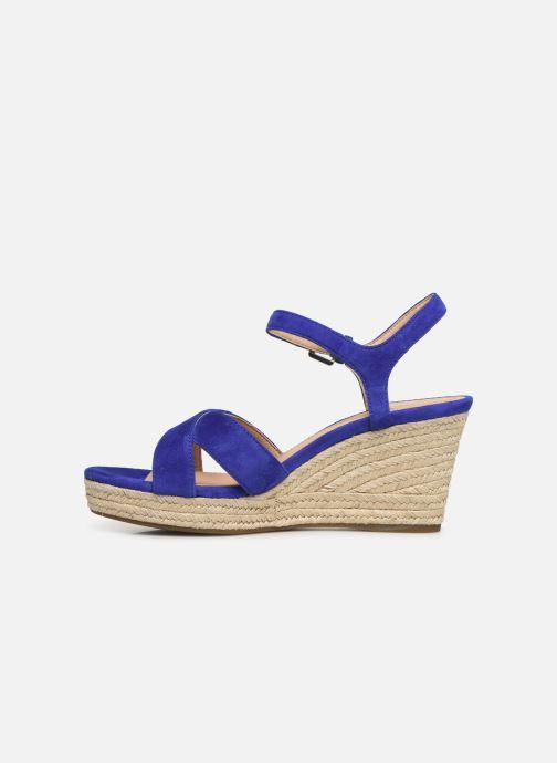 Sandales et nu-pieds Geox D SOLEIL A D92N7A Bleu vue face