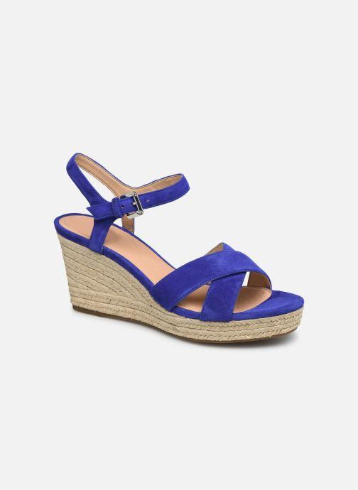 Sandales et nu-pieds Geox D SOLEIL A D92N7A Bleu vue détail/paire