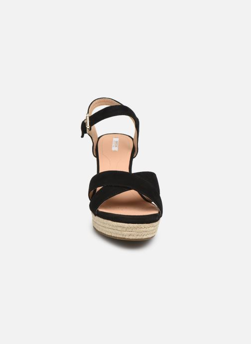 Sandals Geox D SOLEIL A D92N7A Black model view