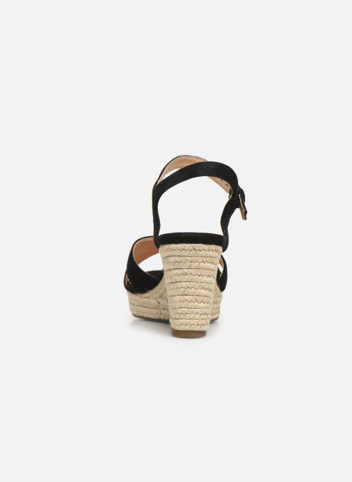 Sandales et nu-pieds Geox D SOLEIL A D92N7A Noir vue droite