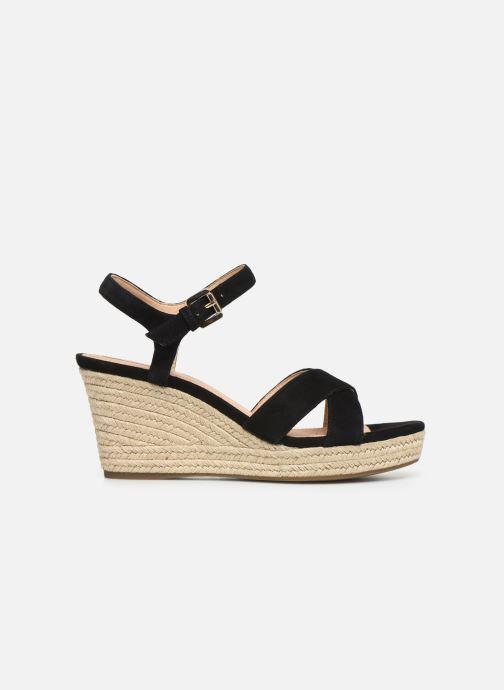 Sandales et nu-pieds Geox D SOLEIL A D92N7A Noir vue derrière
