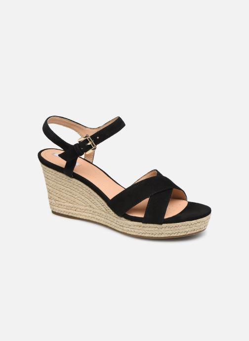 Sandales et nu-pieds Geox D SOLEIL A D92N7A Noir vue détail/paire