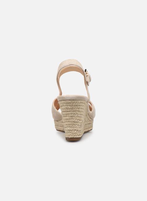 Sandales et nu-pieds Geox D SOLEIL A D92N7A Beige vue droite