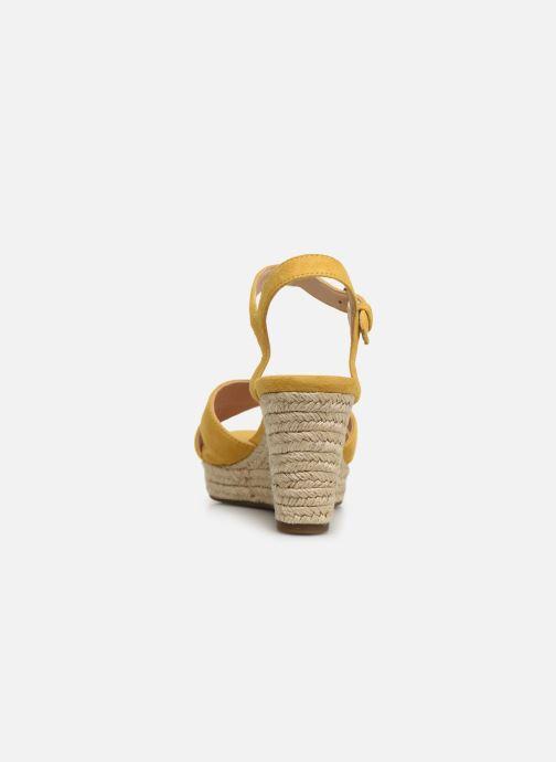 Sandales et nu-pieds Geox D SOLEIL A D92N7A Jaune vue droite