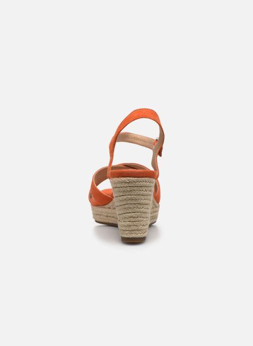 Sandales et nu-pieds Geox D SOLEIL A D92N7A Orange vue droite
