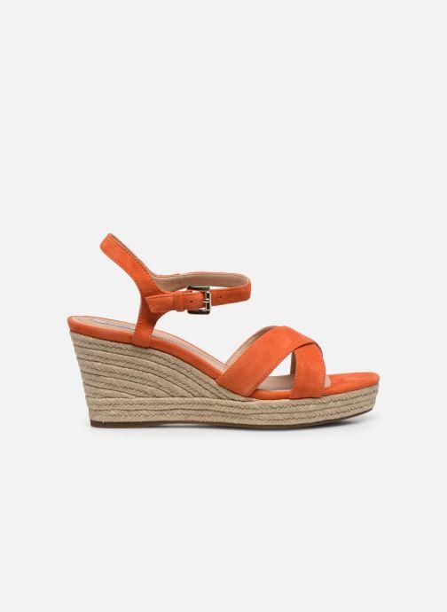 Sandales et nu-pieds Geox D SOLEIL A D92N7A Orange vue derrière
