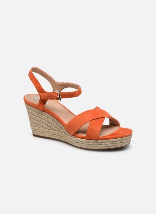 Sandales et nu-pieds Geox D SOLEIL A D92N7A Orange vue détail/paire