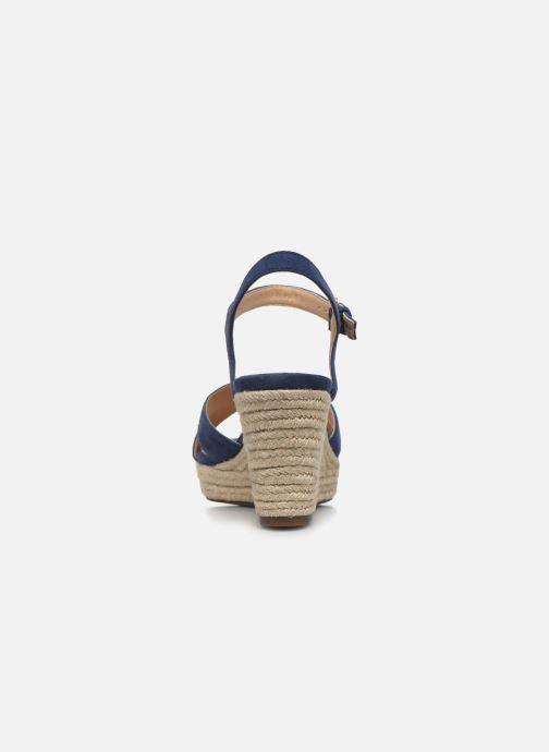 Sandales et nu-pieds Geox D SOLEIL A D92N7A Bleu vue droite