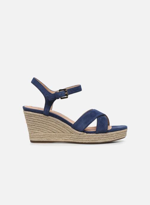 Sandales et nu-pieds Geox D SOLEIL A D92N7A Bleu vue derrière