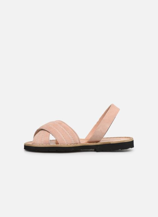 Sandales et nu-pieds MINORQUINES Avarca Berlin Rose vue face