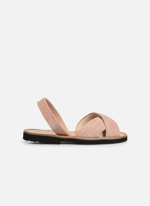 Sandales et nu-pieds MINORQUINES Avarca Berlin Rose vue derrière