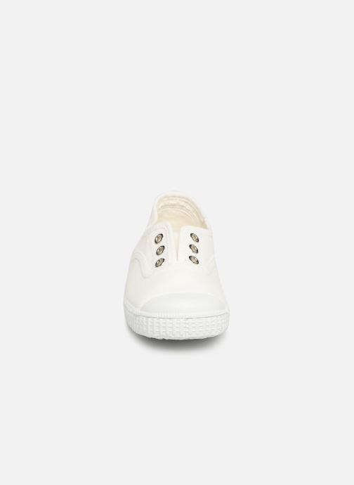 Baskets I Love Shoes BINTA Blanc vue portées chaussures