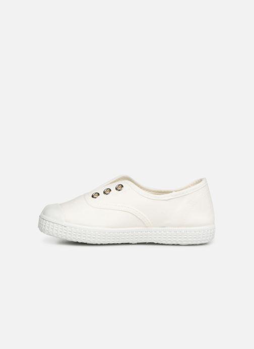 Baskets I Love Shoes BINTA Blanc vue face