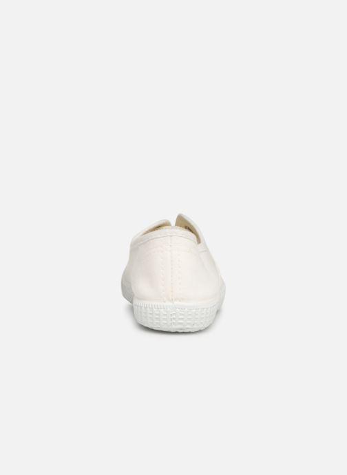 Baskets I Love Shoes BINTA Blanc vue droite