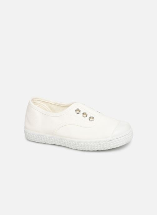 Baskets I Love Shoes BINTA Blanc vue détail/paire