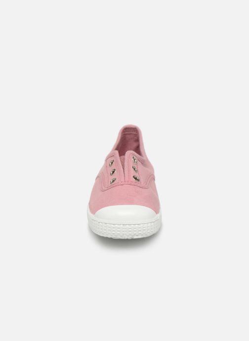 Baskets I Love Shoes BINTA Rose vue portées chaussures