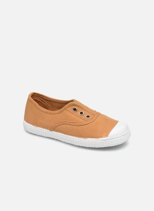 Baskets I Love Shoes BINTA Marron vue détail/paire