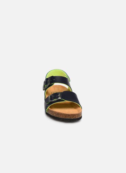 Sandales et nu-pieds I Love Shoes Borini Bleu vue portées chaussures